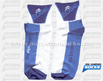 Custom EDGE Sports Nutrition Blue Socks