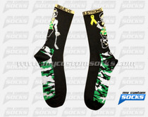 Custom Bradys Munch Lacrosse Camo Socks