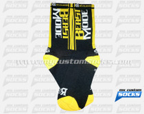 Custom Socks: Beast Mode (Yellow)