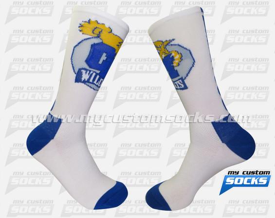 Custom Elite Socks - Central Mountain High School of Pennsylvania Team