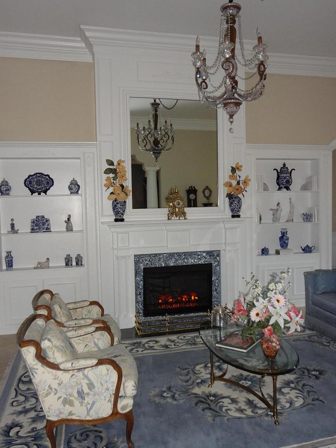 Fireplace Mantel | Colonial Style