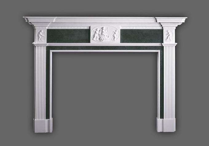Genuine English Styled marble mantels