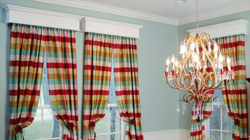 Custom Wood Window Cornices