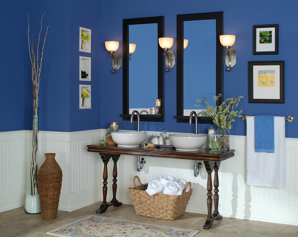 Wainscot Height Bead Board | Bathroom