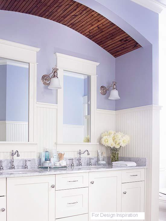 Bead Board Paneling used in this bathroom