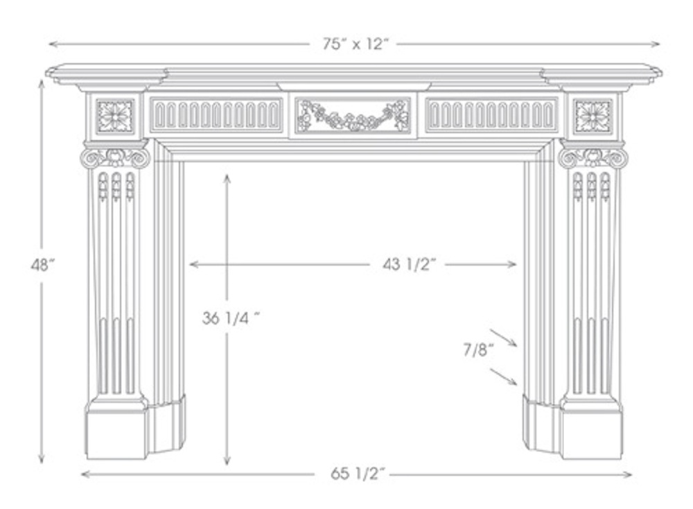 Robert Adam Mantel