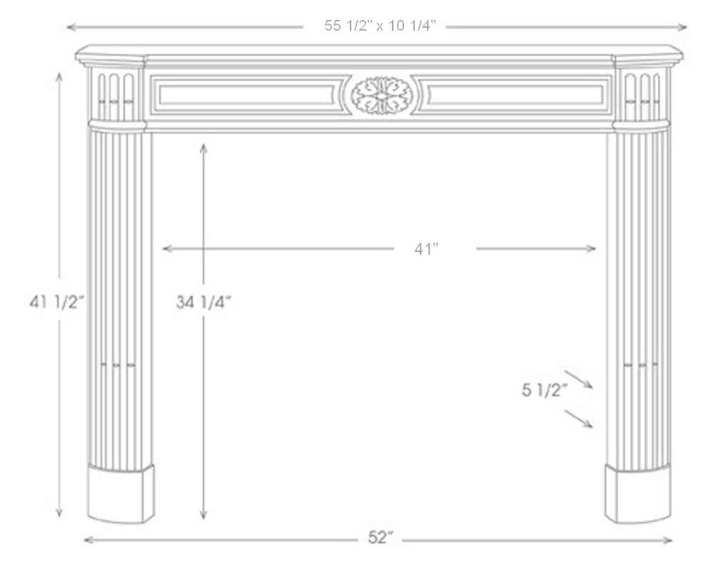 French Marble Mantels