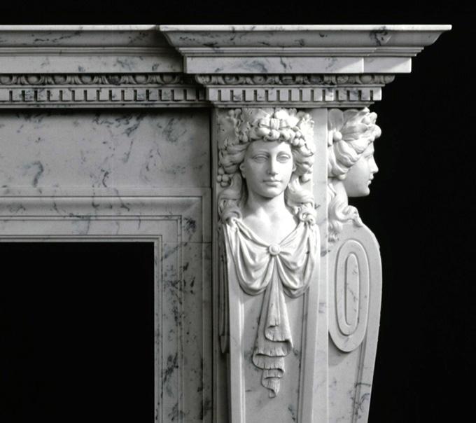 Italian Marble Mantels