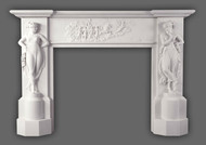 The Canova Marble Mantel