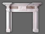 The St. James Marble Mantel, circa 1780