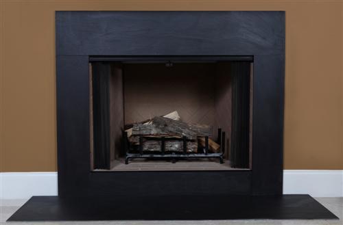 Black Slate Fireplace Facing Surrounds