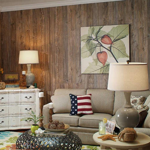 Wood Paneling Weathered Cedar Vintage Shabby Chic