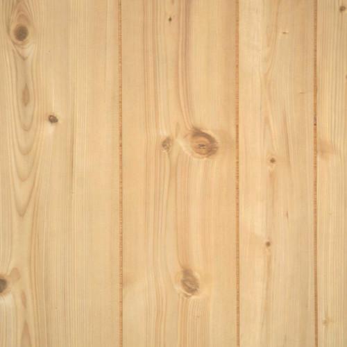 full 4 x 8 sheet of rustic pine paneling - 9 random grooves