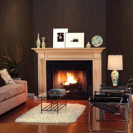 Dark, rich and intensely elegant plywood paneling