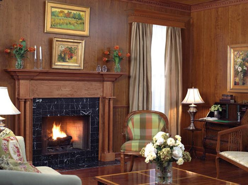 Pleasant Wood Paneling Williamsburg Cherry Library Panels Largest Home Design Picture Inspirations Pitcheantrous
