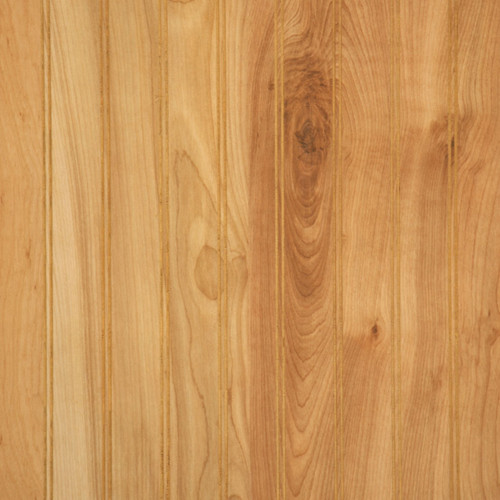 """2"""" Pattern Beaded natural Birch wainscoting - no finishing needed!"""