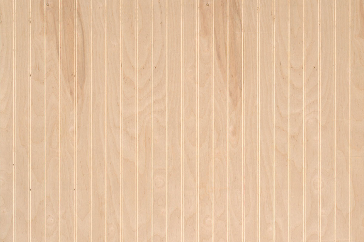 Wholesale Home Decor Items Beaded Wainscot Paneling Unfinished Birch Wood Paneling