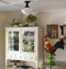 """4"""" wide beaded birch paneling used on the ceiling and painted white!"""