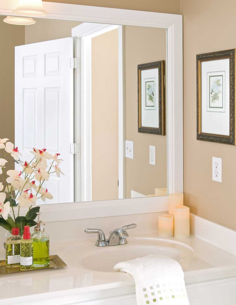 Durham Bathroom Mirror Frames