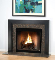 A modern and contemporary mantel surround