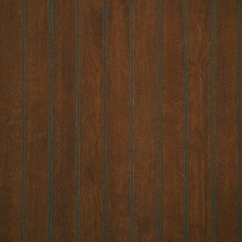 Dark Brown, walnut-like coloring on our Cafe Cider paneling