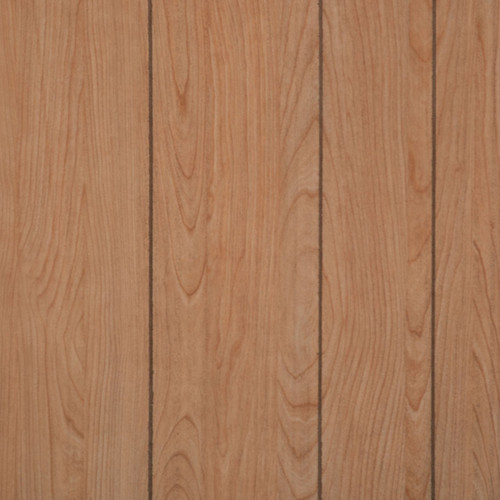 Full 4 x 8 sheet of Island Cherry paneling - random plank separated by a groove