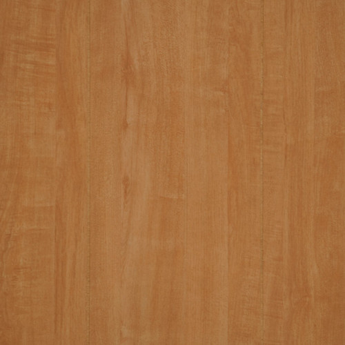 Worthier Maple Paneling, with random width planks separated by a groove. Golden Honey Brown