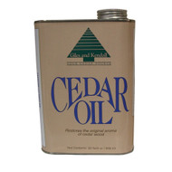 32 oz. cans of 100% genuine Eastern Red Cedar aromatic oil