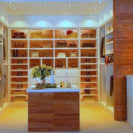 Line Master Bedroom Closets with Cedar Safe tongue and groove planking