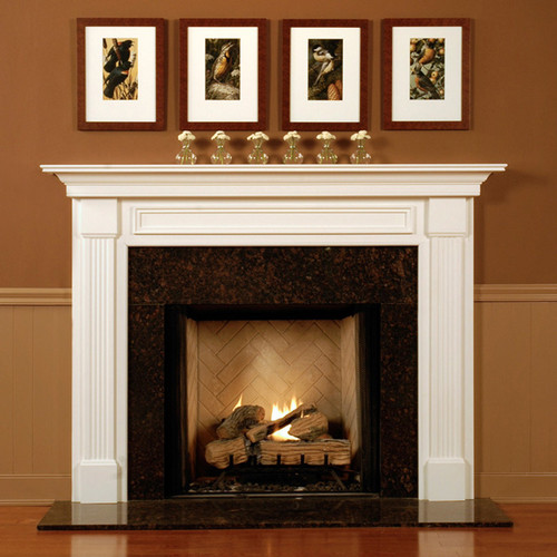 Wood Fireplace Mantel Surround