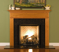 The Warren mantel.  Image shared to show details