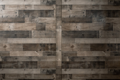 Weathered Gray Pallet paneling