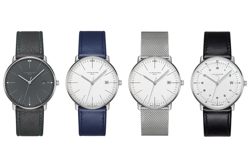 Junghans Max Bill MEGA watches available for sal at legend of time chicago watch center