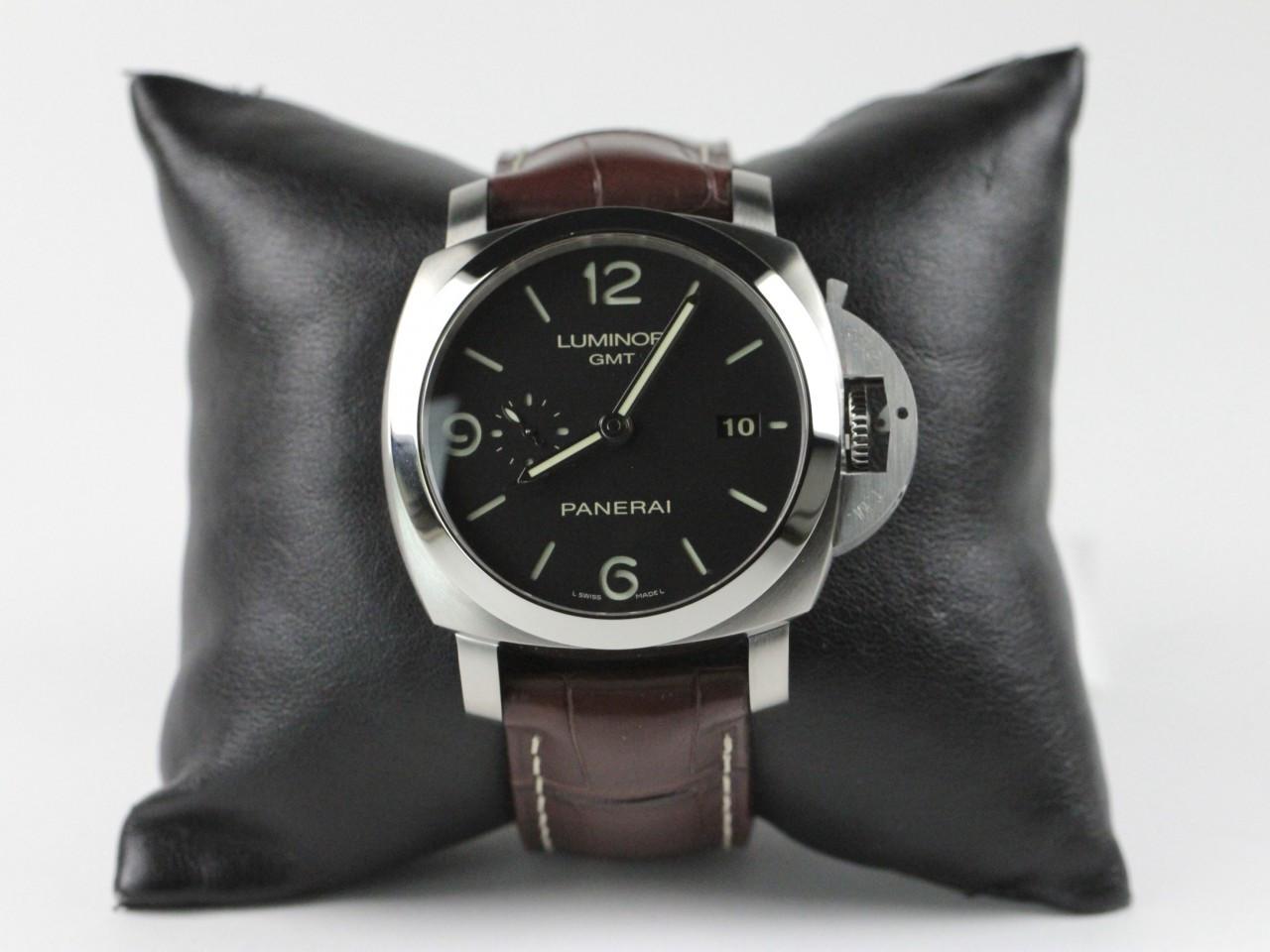 db852161476e ... Officine Panerai Watch - Luminor GMT 1950 PAM 320. Image 1. Image 1   Image 2  Image 3  Image 4