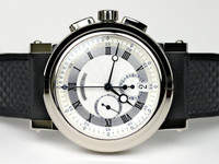 Breguet Watch - Marine Chronograph 18K White Gold