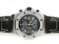 Audemars Piguet Watch - Royal Oak Offshore Blue with Gray Sub-Dials
