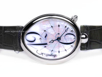 Breguet Watch - Reine De Naples Stainless Steel Mother of Pearl