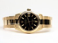 Rolex Watch - Vintage Datejust 3/4 size 18K Yellow Gold