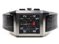 Jaeger Le-Coultre Watch - Oversized Limited Edition Titanium Chronograph Reverso Squadra