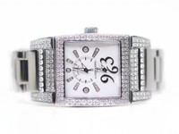 de Grisogono Watch - Instrumentino Acier Stainless Steel & Diamonds