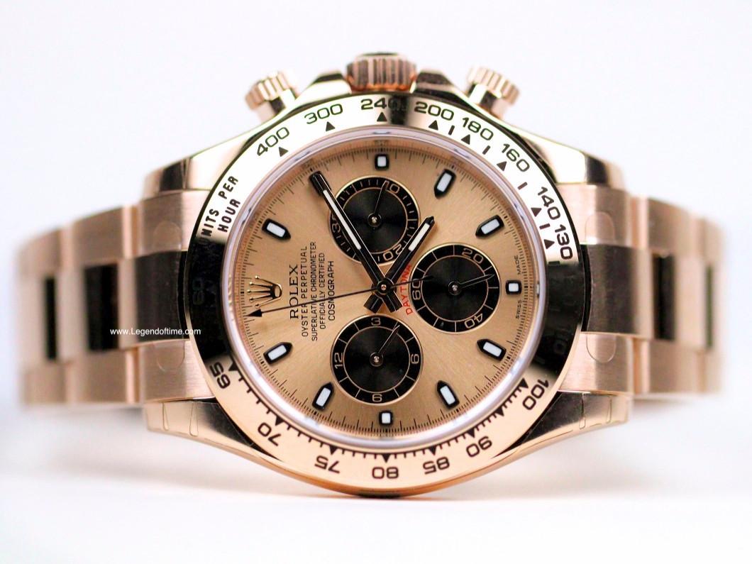 Rolex Daytona Everose Gold Chronograph Swiss Watch 116505 Www