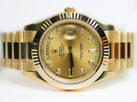 Rolex Watch- Day-Date II President Yellow Gold