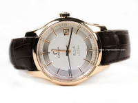 Omega Watch - De Ville Hour Vision Annual Calendar Rose Gold