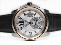Cartier Watch - Caliber de Cartier Pink Gold & Steel