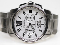 Cartier Watch - Caliber de Cartier Chronograph Steel Auto