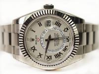 Rolex Watch- Sky-Dweller White Gold