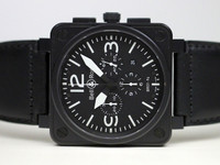Bell & Ross Watch - BR 01-94 Carbon Chrono Aviation
