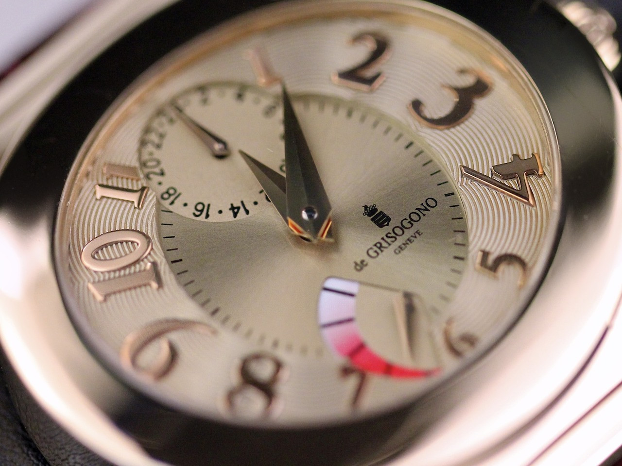 Dial Details - de Grisogono Watch - Tondo RM N52/A  - Legend of Time - Chicago Watch Center