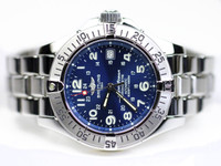 Breitling Watch - SuperOcean Blue