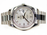 Rolex Oyster Perpetual Watch - Day-Date II White Gold